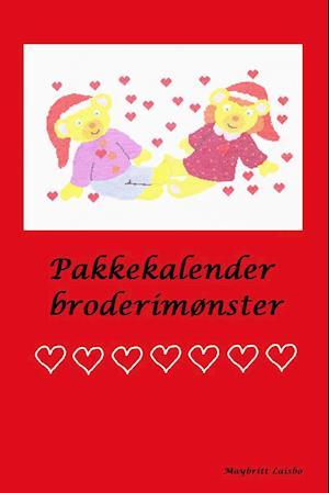 Pakkekalender broderimønster af Maybritt Laisbo