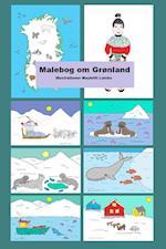 Malebog om Grønland af Maybritt Laisbo