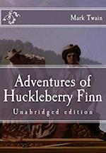 Adventures of Huckleberry Finn af Mark Twain