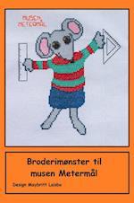 Broderimønster til musen Metermål