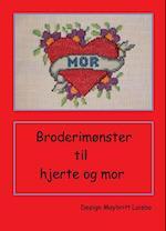 Broderimønster til tatoverings hjerte med mor