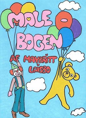 Malebogen med Bamse og Klovn af Maybritt Laisbo