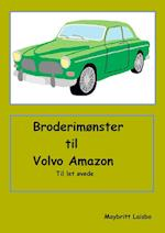 Broderimønster Volvo Amazon grøn for let øvede