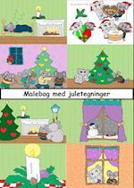 Malebog med juletegninger fra musen Metermål
