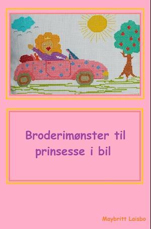 Broderimønster til bilpude prinsesse af Maybritt Laisbo