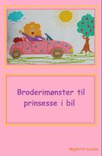 Broderimønster til bilpude prinsesse