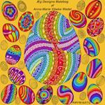 Æg Designs Malebog af Anna-Marie Vibeke Wedel