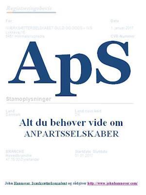 ApS af John Hannover