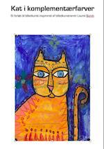 Kat i komplementærfarver