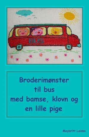 Broderimønster bilpude bus af Maybritt Laisbo
