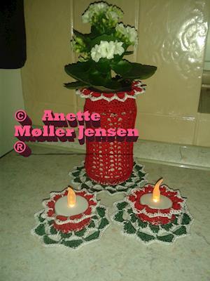 julepose med stager af Anette Møller Jensen