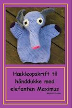 Hækleopskrift til hånddukke med elefant