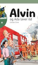 Alvin og Ada laver ild (Alvin serien Billebøgerne)