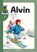 Alvin på ski af Carsten Flink