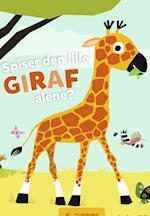 Spiser den lille giraf alene?