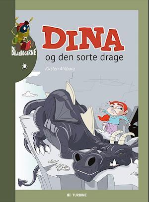 Bog, indbundet Dina og den sorte drage af Kirsten Ahlburg