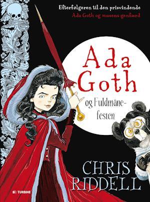 Bog indbundet Ada Goth og fuldmånefesten af Chris Riddell