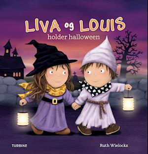 Liva og Louis holder halloween