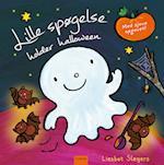 Lille spøgelse holder halloween