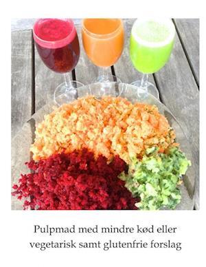 Bog, hæftet Pulpmad med mindre kød eller vegetarisk samt glutenfrie forslag af Anette Axelsen