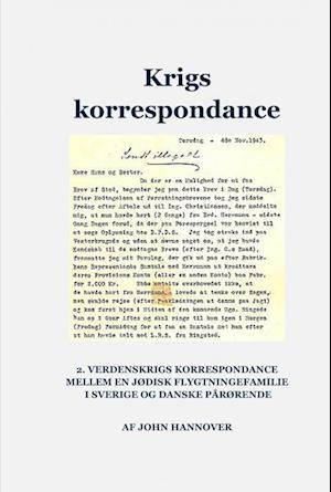 Bog, indbundet Krigs korrespondance af John Hannover