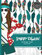 Street Fashion - Coloring Book