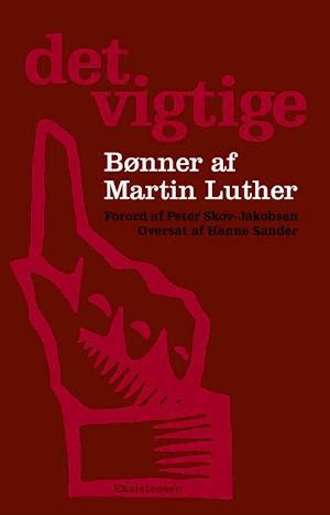 Bog, hæftet Det vigtige af Martin Luther