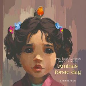 Bog, indbundet Aminas første dag af Paul Leer-Salvesen