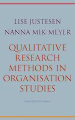 Qualitative research methods in organisation studies