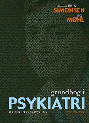 Bog, indbundet Grundbog i psykiatri af L, Bent Rosenbaum, Henrik Steen Andersen