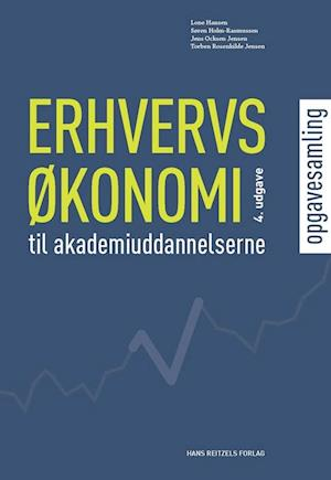 Bog, hæftet Erhvervsøkonomi til akademiuddannelserne af Jens Ocksen Jensen, Lone Hansen, Morten Dalbøge