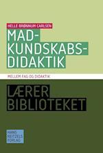 Madkundskabsdidaktik (Lærerbiblioteket)