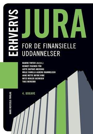 Erhvervsjura - for de finansielle uddannelser-tage bergsbo-bog fra tage bergsbo fra saxo.com