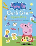 Peppa Pig - Gurli Gris' opgavebog (100 stickers, klippe-klistre, aktiviteter)
