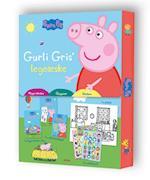 Peppa Pig - Gurli Gris' legeæske (klippe-klistre, tegn og mal, stickers)