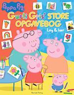 Peppa Pig - Gurli Gris' store opgavebog - Leg og lær