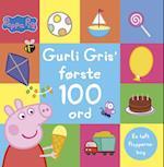 Peppa Pig - Gurli Gris' første 100 ord - En løft flapperne-bog