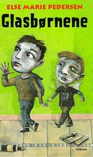 Bog, hæftet Glasbørnene af Else Marie Pedersen