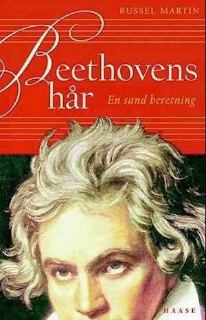 Bog indbundet Beethovens hår af Russell Martin