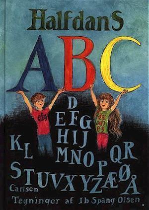 Bog, indbundet Halfdans abc af Halfdan Rasmussen