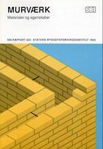 Murværk (SBi rapport 223)