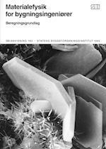 Materialefysik for bygningsingeniører (SBi anvisning 183)