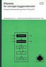 Miljødata for udvalgte byggematerialer (SBi meddelelse 113)