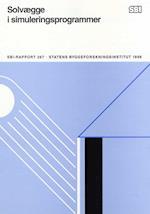 Solvægge i simuleringsprogrammer (SBi rapport 267)
