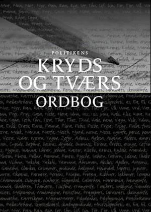 Bog, indbundet Politikens kryds og tværs ordbog af Holger Scheibel