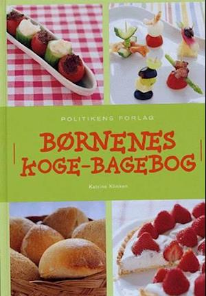 Bog, indbundet Børnenes koge-bagebog af Katrine Klinken
