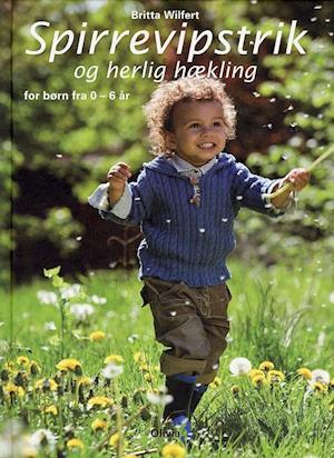 Bog, indbundet Spirrevipstrik og herlig hækling af Britta Wilfert