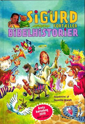 Bog & DVD Sigurd fortæller bibelhistorier af Sigurd Barrett