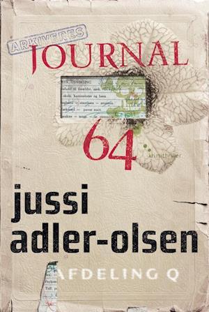 Bog, hæftet Journal 64 af Jussi Adler-Olsen
