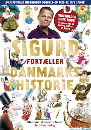 Bog, indbundet Sigurd fortæller danmarkshistorie af Sigurd Barrett